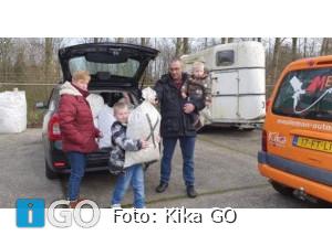 6-jarige Iwan (Sommelsdijk) wenst doppies voor KiKa van de Sint