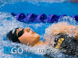 Elise Tanis (Goeree-Overflakkee) zwemt mee met landelijke top