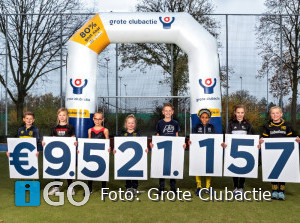 Clubs en verenigingen Goeree-Overflakkee halen samen 24660 euro op