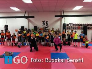Budokai Senshi blijft sportief en actief in corona tijd