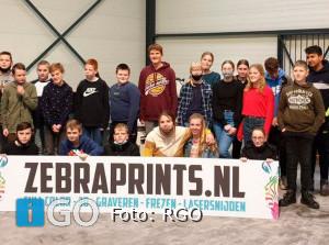 RGO-leerlingen bezoeken Zebraprints Middelharnis