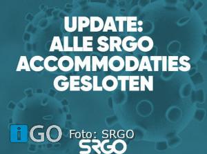 Sluiting SRGO locaties tot en met 19 januari 2021