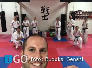 Net voor nieuwe maatregelen examens Budokai Senshi