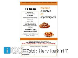 Heerlijke Oliebollen en Appelbeignets te koop Nieuwe-Tonge