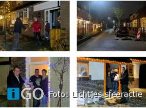 Winnaars lichtjes sfeeractie Svik blij verrast door wethouder