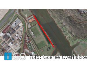 Gemeente sluit voetpad bij Spui Stellendam