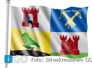 Vlag Ouddorp wappert ook op campings en in havens!