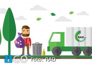 RAD evalueert 1e huis-aan-huis inzameling PMD-afval Goeree-Overflakkee