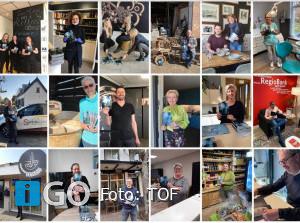 TOF steunt lokale ondernemers met verspreiding nieuw magazine
