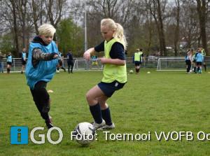 Verslag voetbalclinic RKC bij het jarige OFB in Ooltgensplaat