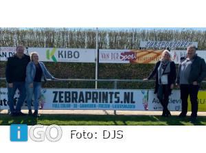 Nieuwe sponsoren voetbalvereniging De Jonge Spartaan