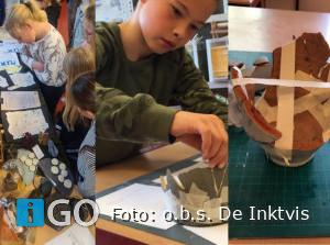 Leerlingen Inktvis Dirksland zoeken naar eigenaar muntschat