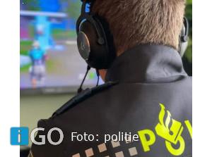 Politie met boodschap voor jeugdige volgers (of hun ouders) Goeree-Overflakkee