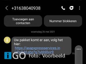 Politie: Enorme toename aangiftes door phishing sms