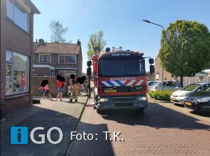 Brandweer naar Bastingstraat Oude Tonge