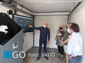 Vitale Kernen bezoekt Innovathuis Stad aan 't Haringvliet