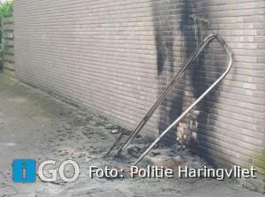 Getuige-oproep brandstichting dixi tegen gevel woonhuis Sommelsdijk