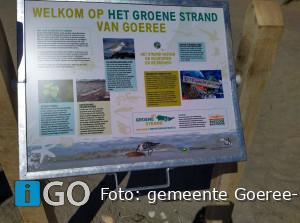 Informatieborden geplaatst bij vier Goereese strandopgangen