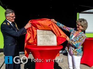 Burgemeester startsymbolisch nieuwbouwbrandweerkazerne Ouddorp