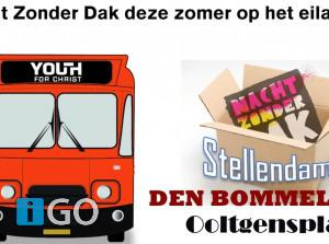 Jeugd doet mee met YFC & Nacht Zonder Dak op Goeree-Overflakkee