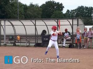 Jongste honkballers The Islanders Oude-Tonge van start