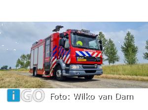 Brandweer naar brandje Schoolweg Den Bommel