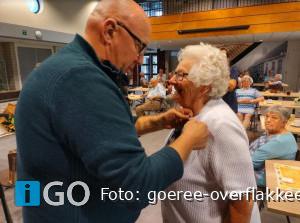 Koninklijke onderscheiding Lia Bruggeman-Luchtenburg (87) uit Nieuwe-Tonge