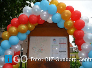 Nieuw ontworpen plattegrondborden Ouddorp Centrum onthuld