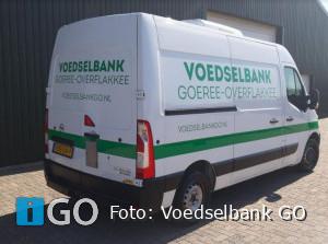 Voedselbank Goeree-Overflakkee breed gedragen: nieuwe koelbus