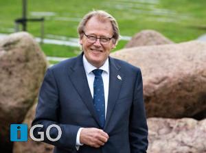 Commissaris Koning brengt digitaal bezoek aan Goeree-Overflakkee