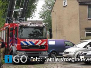 Brandweer naar melding Nachtegaalstraat Sommelsdijk