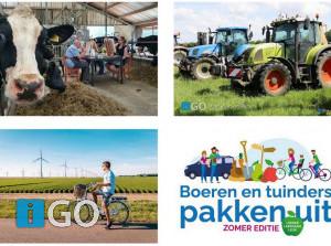 Boeren en tuindersZuid-Holland pakkenuit in de zomer