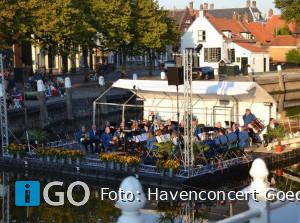 Organisatie Havenconcert Weekend Goedereede in volle gang