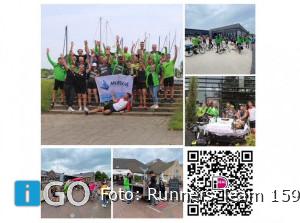Geslaagde Roparun oefenrun Goeree-Overflakkee runners Team 159