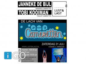 Voorstelling Cameretten op hofstede Lust en Last Sommelsdijk