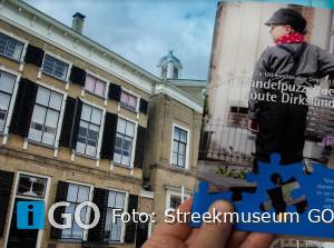 Puzzeltocht Dirksland voor mensen opGoeree-Overflakkeeén van de overkant