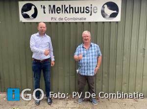 Kees Klink uit Den Bommel wint de Grote Duivenprijs