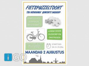 Doe mee met jaarlijkse fietstocht Ouddorp en omstreken