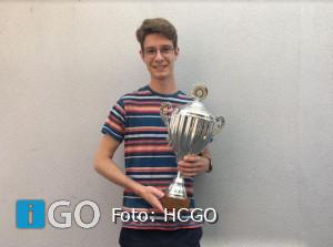 Sven Groenewegen vrijwilliger van het jaar bij Hockeyclub Goeree-Overflakkee
