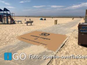 Ouddorp (Goeree-Overflakkee) heeft schoonste strand van Zuid-Holland