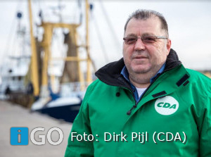 Dirk Pijl (CDA) na jaar ziekte terug als raadslid Goeree-Overflakkee