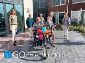 Nieuwe duofiets woonzorglocatie Bestenwaerd Dirksland