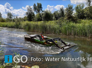 Water Natuurlijk: Inzet maaiboot moet beter