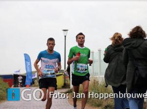 Christiaan van Beusichem 2e Kustmarathon, na zinderend slot