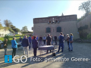 Fort Prins Frederik Ooltgensplaat volop in ontwikkeling