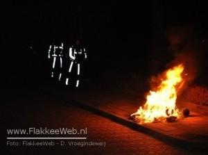 Gebouwbrand blijkt containerbrand te zijn
