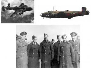 Zeldzame beelden grote bommenwerpers laag over Goeree-Overflakkee in WO2