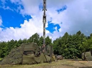 Militaire oefening van Neeltje Jans naar Ouddorp