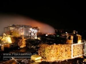 Opnieuw brand Sluishaven