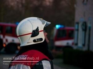 Schoorsteenbrand op Dorpsweg Sommelsdijk